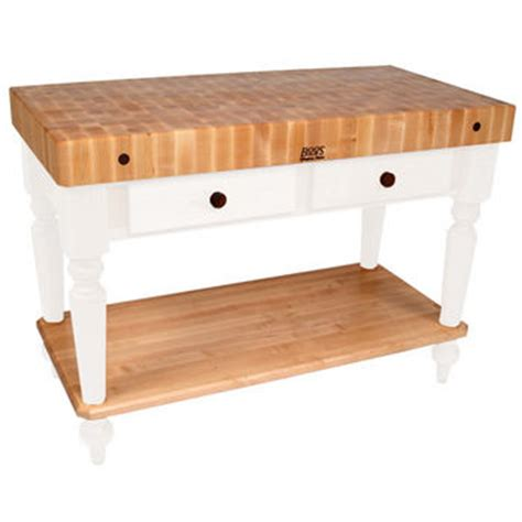 boos kitchen work tables worktables in stainless steel butcher block boos