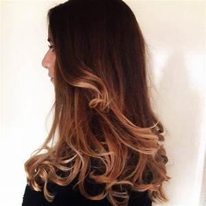 Ombré Hair Chatain : ombr hair blond sur chatain ~ Dallasstarsshop.com Idées de Décoration