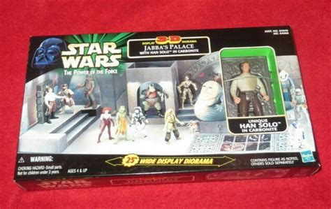 Star Wars Jabba's Palace Han Solo in Carbonite MIB MINT ...