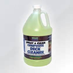 buy spray and clean composite deck cleaner wash