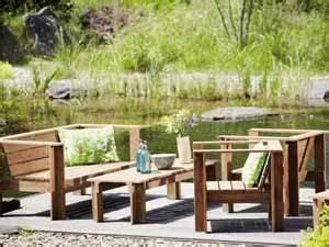 Loungemöbel Holz Outdoor : loungem bel aus holz gartenm bel zum chillen ~ Indierocktalk.com Haus und Dekorationen