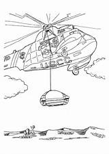 Coloring Helicopter Rescue Pages Mission Printable Transportation Sheets Coast Helicopters Guard Boat Sheet Air Print Coloringpages101 sketch template