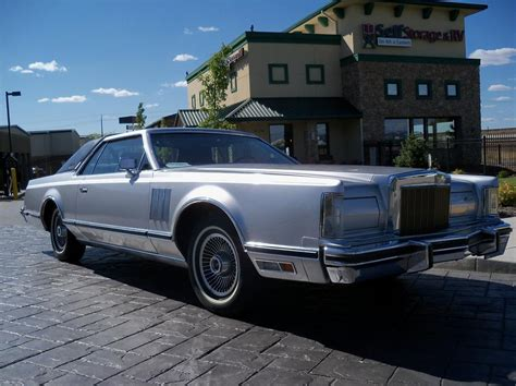 lincoln continental mark   door hardtop