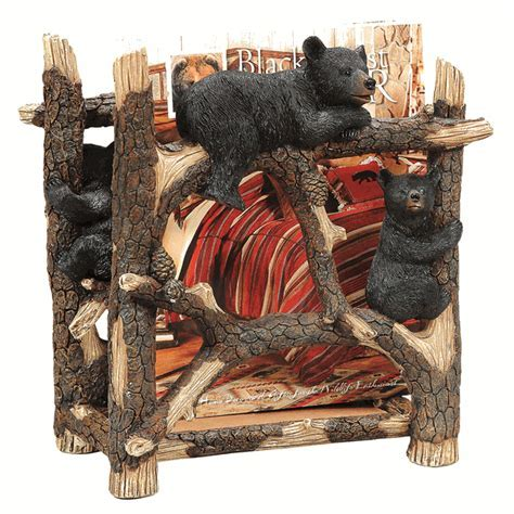 Black Bear Climbing Magazine Rack