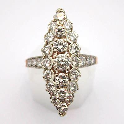 bague marquise or diamants 557 bagues de fian 231 ailles bijoux anciens or