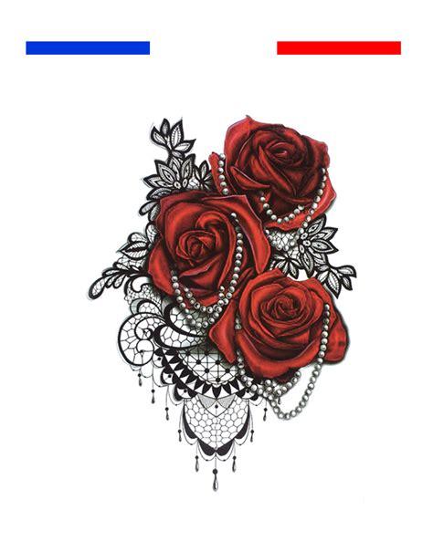 tatouage dentelle epaule femme mon petit tatouage temporaire