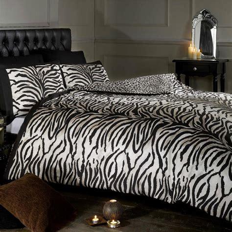 tiger leopard imprimer r 233 versible simple housse de couette et taie d oreiller set