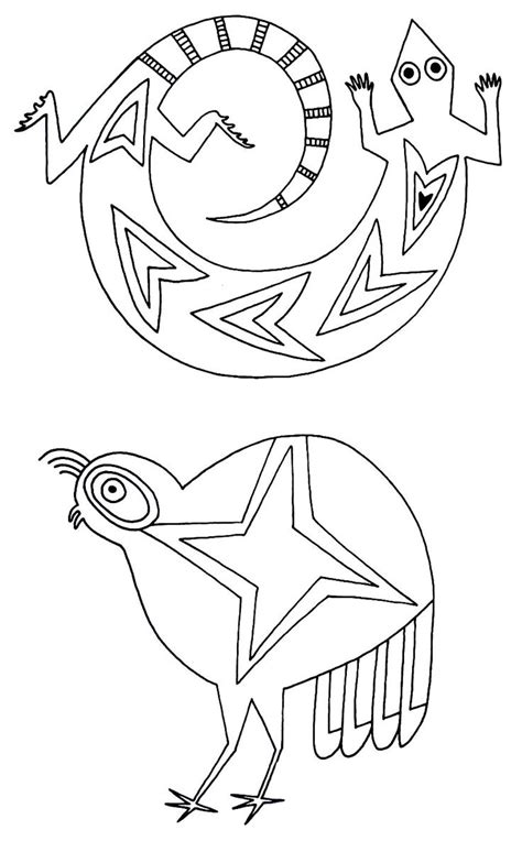 native american pottery coloring pages printable