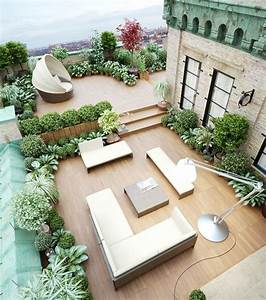 Große Pflanzen Fürs Wohnzimmer : 50 coole ideen f r rooftop terrassengestaltung freshouse ~ Michelbontemps.com Haus und Dekorationen