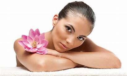 Spa Massage Woman Getting
