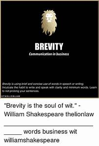 Brevity Is The Soul Of Wit Essay titanic facts homework help brevity ...