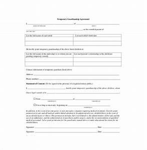 10 custody agreement templates free sample example With naming a guardian for your child template