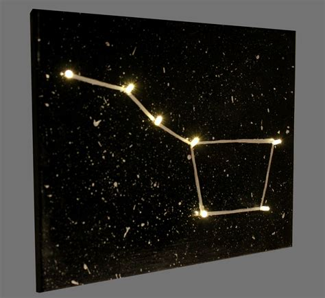 diy constellation canvas a craft in your day