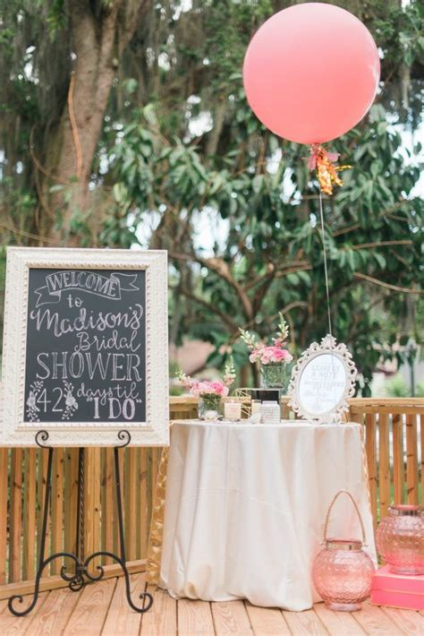 Madison's Beautiful Outdoor Bridal Shower Outdoor bridal