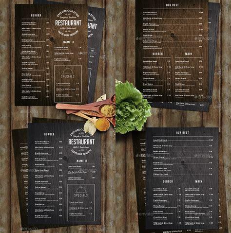 creative restaurant menu designs  premium