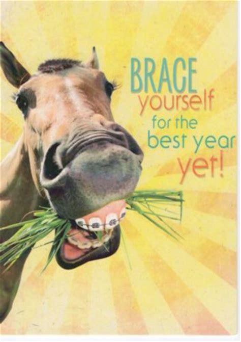 western home decor birthday card matching envelope horse
