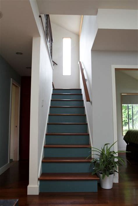 25 best ideas about stair risers on painted