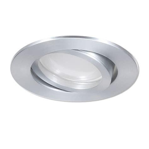 deckenspots led dimmbar lhg led einbaustrahler aluminium rund 3 fach switchmo dimmbar wohnlicht