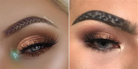people   braiding  brows    tired