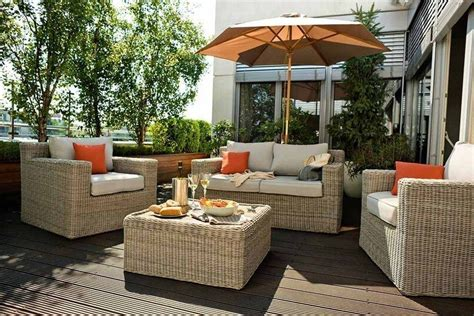 muebles de terraza rattan usados ideas de nuevo diseno