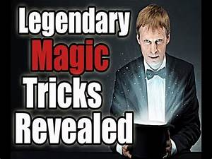 easy magic tricks - revealed/explained - YouTube