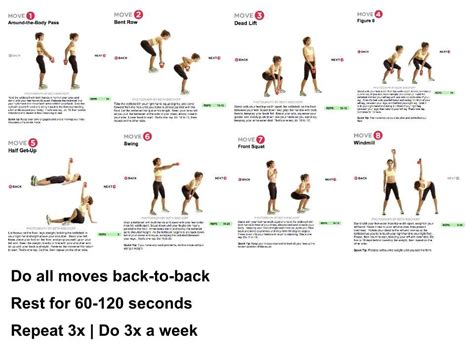 kettlebell workout easy effective exercises kettle bell health better routines fitness uploaded user