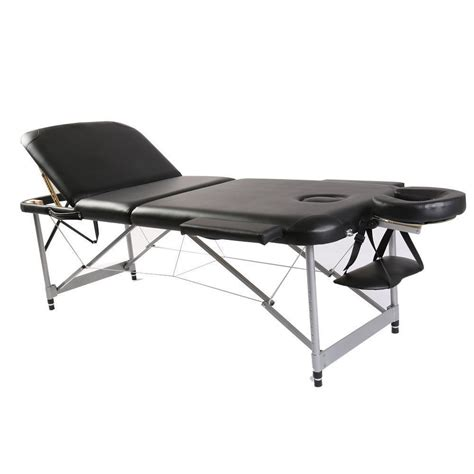 portable massage table carry bag 3 fold portable massage table spa bed tattoo w free