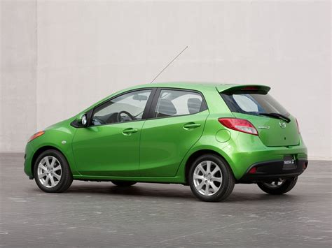 The Mazda2 Hatchback. Mean And Green.