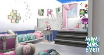 Chambre Fille by Cr 233 Ation Chambre Fille Sims 4 Youtube