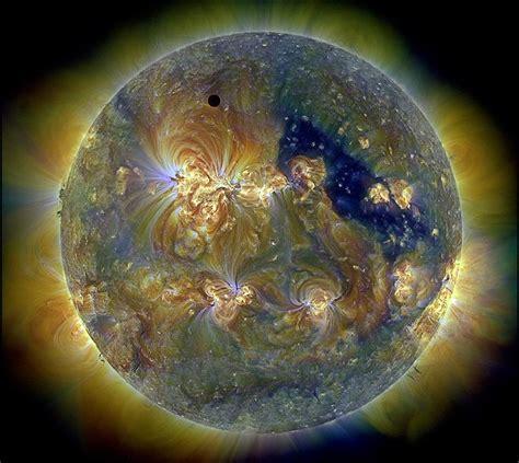 apod  august  venus   triply ultraviolet sun