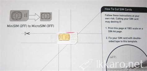 sim card sizes   cut  sim card ikkaro