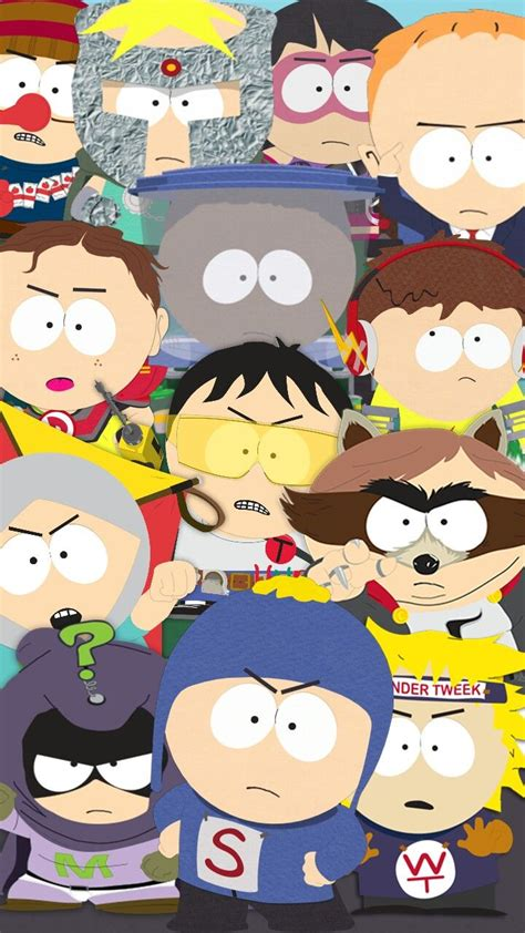 Goth kids got tired of all the posers and decided to overtake phone destroyer! Pin by John Morris on south park wallpaper   South park characters, Creek south park, South park