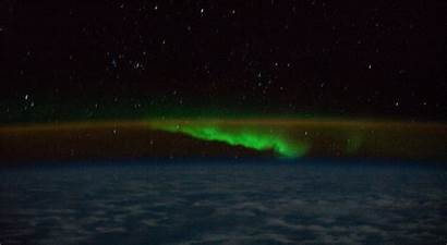 Recent Iss Scenes Atmosphere Earth Animated Nasa