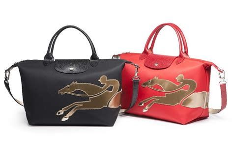 longchamp le pliage  year   horse bag bragmybag