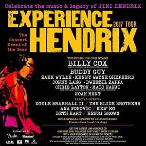 ZAKK WYLDE Set For 2017 'Experience Hendrix Tour' – Heavy ...