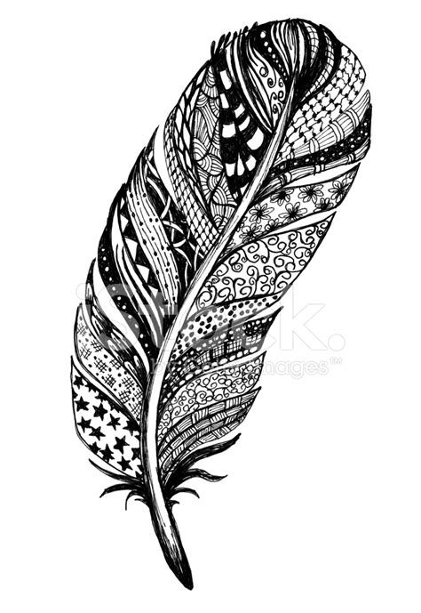 doodled tinta de dibujo pluma fotografias de stock