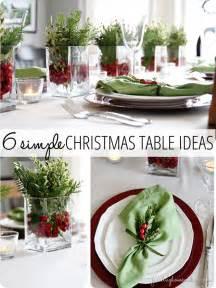 Xmas Table Settings Ideas