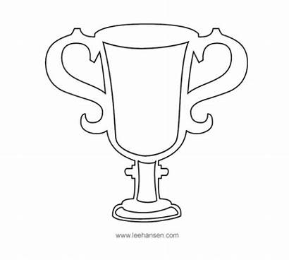 Trophy Coloring Dad Father Award Ribbon Medal