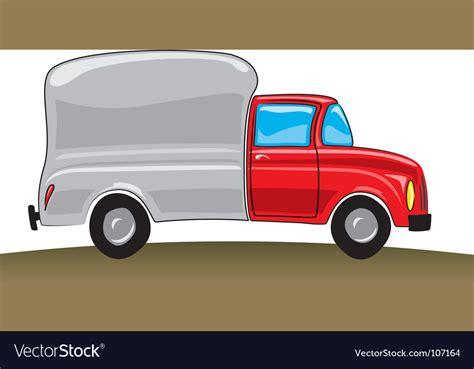 Cartoon Pickup Truck Royalty Free Vector Image