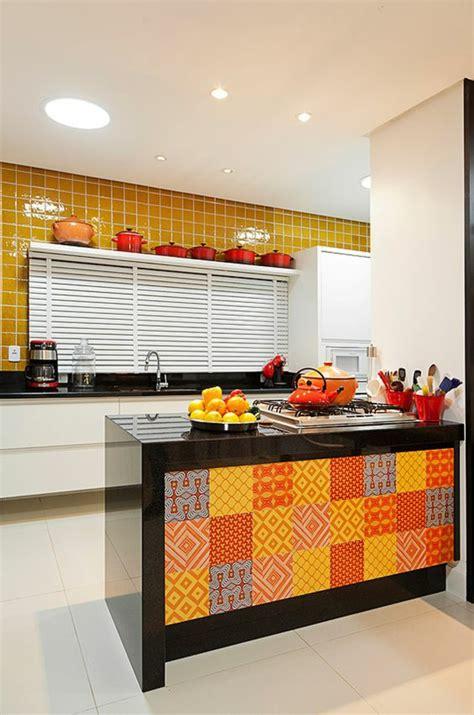 cuisine orange cuisine orange et gris cool cuisine moderne orange et