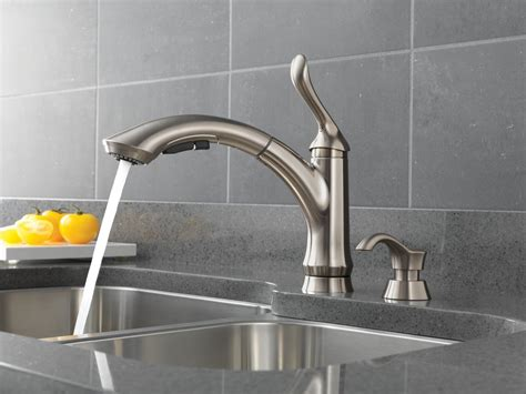 faucet for kitchen sink complete your kitchen with the delta kitchen faucets designwalls com