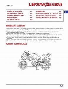 Manaul De Servi U00e7o Cbr600 F 3   2001