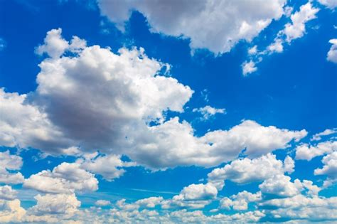 Bleu Sky by Great Blue Sky With Clouds Photo Free