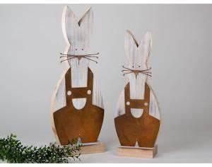 Deko Hase Holz : formano deko hase holz rost 40cm oder 48cm 561947 561954 osterdeko garten deko fr hling ~ Yasmunasinghe.com Haus und Dekorationen