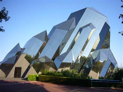 modern futuristic building architecture design modern