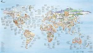 The World's Favorite Climbing Areas In One Map