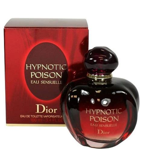 hypnotic poison by christian eau de toilette spray 100 ml buy at best prices
