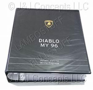 Lamborghini Wiring Manuals