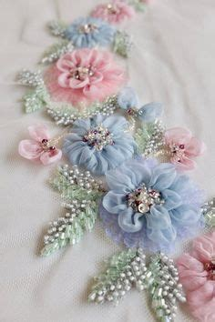 ribbon roses  ribbon embroidered delights