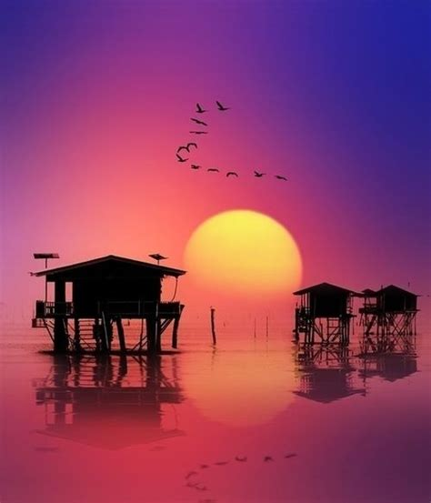 sunset  thailand pictures   images
